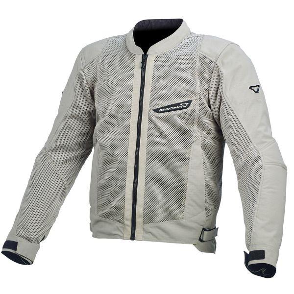 Blouson Moto Macna Velocity Mesh Light Grey