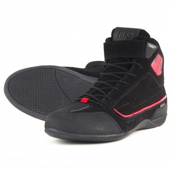 Baskets Moto V'Quattro GP4 Waterproof Black Red