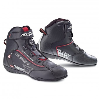 Baskets Moto Ixon Soldier Evo Black Red
