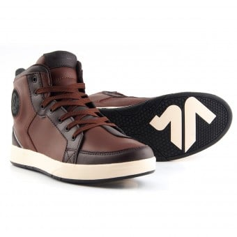 Baskets Moto V'Quattro Twin Brown Beige