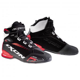 Baskets Moto Ixon Bull WP Black White Red