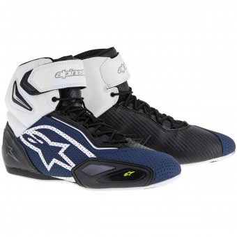 Baskets Moto Alpinestars Faster 2 Vented Black Navy