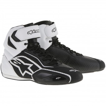 Baskets Moto Alpinestars Faster 2 Vented Black White