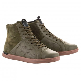 Baskets Moto Alpinestars Jam Air Military Green