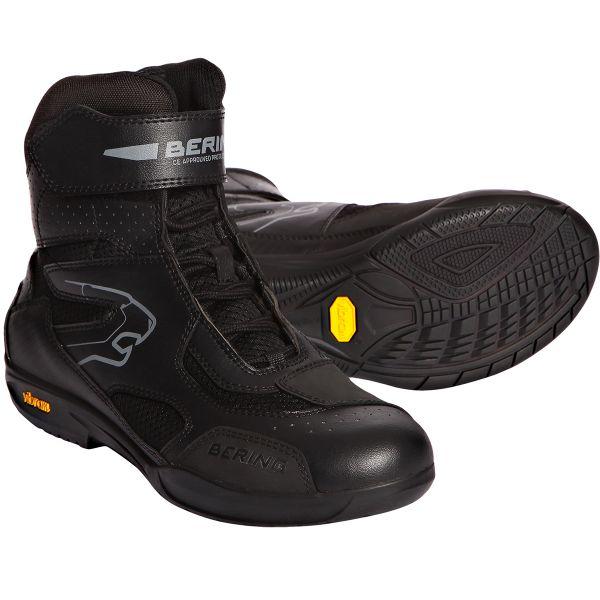 Baskets Moto Bering Mercure Black