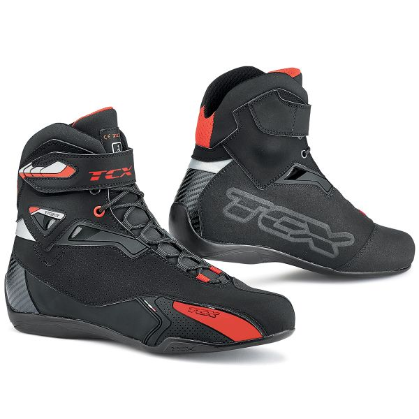 Baskets Moto TCX Rush Black
