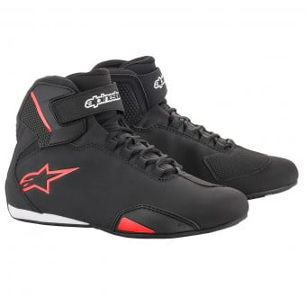 Baskets Moto Alpinestars Sektor Black Red