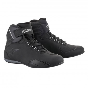 Baskets Moto Alpinestars Sektor Waterproof Noir
