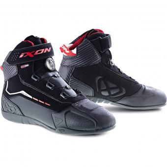 Baskets Moto Ixon Soldier Evo Black Red