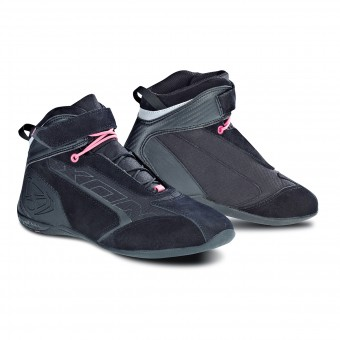 Baskets Moto Ixon Speeder Lady Black Pink