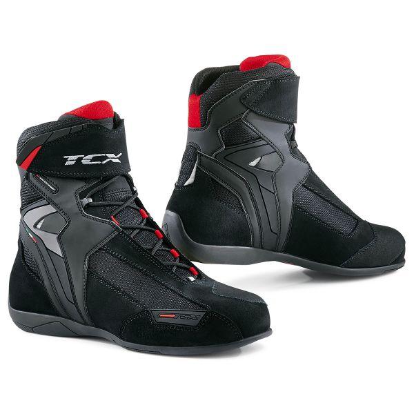 Baskets Moto TCX Vibe Waterproof Noir