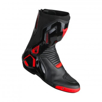 Bottes Moto Dainese Course D1 Out Air Black Fluo Red