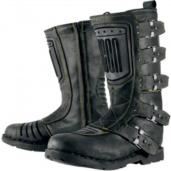 Bottes Moto ICON Elsinore Johnny Black