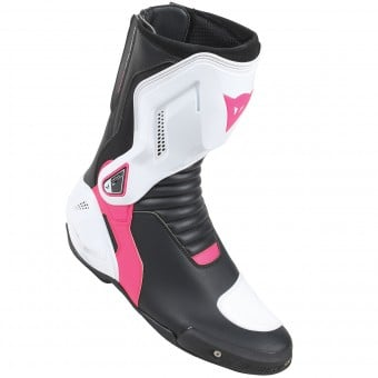Bottes Moto Dainese Nexus Lady Black White Fuschia