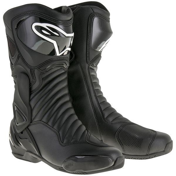 bottes moto alpinestars smx 6 v2 black au meilleur prix. Black Bedroom Furniture Sets. Home Design Ideas
