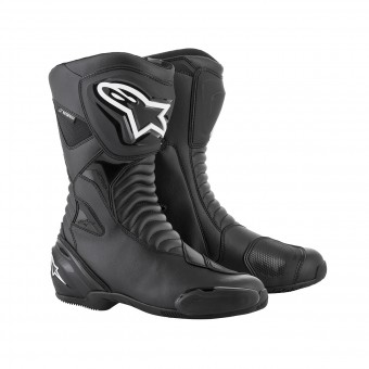 Bottes Moto Alpinestars SMX S Waterproof Black