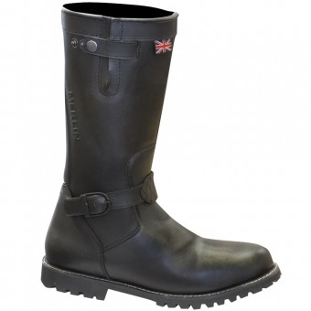 Bottes Moto Merlin Brocton Lady Black Boots