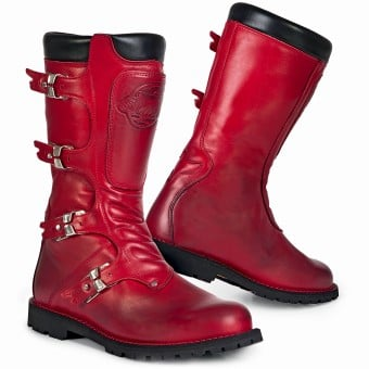 Bottes Moto Stylmartin Continental Red