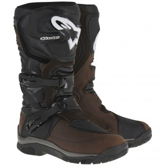 Bottes Moto Alpinestars Corozal Adventure Drystar Oiled Leather