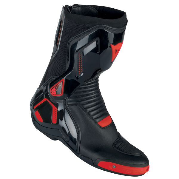 Bottes Moto Dainese Course D1 Out Black Fluo Red