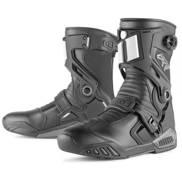 Bottes Moto ICON DKR Boot Black