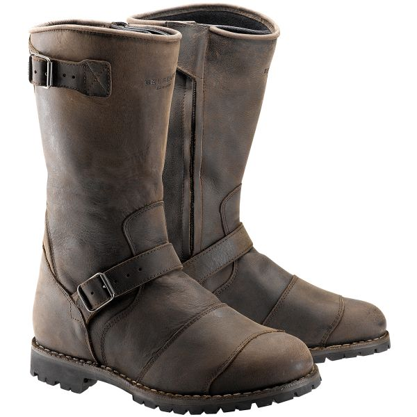Bottes Moto Belstaff Endurance Black Brown