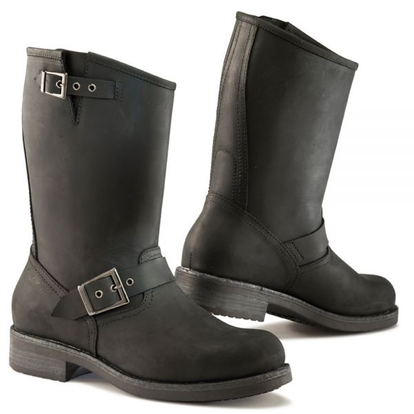 Bottes Moto TCX Heritage Waterproof Black