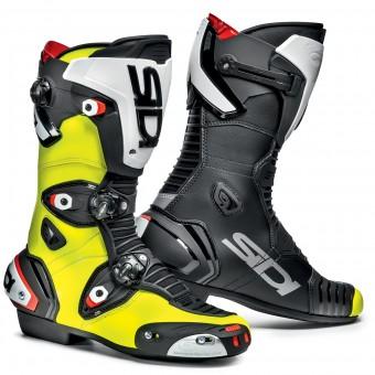 Bottes Moto SIDI Mag 1 Black Yellow Fluo