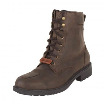 Bottes Moto Furygan Melbourne D3O WP Marron