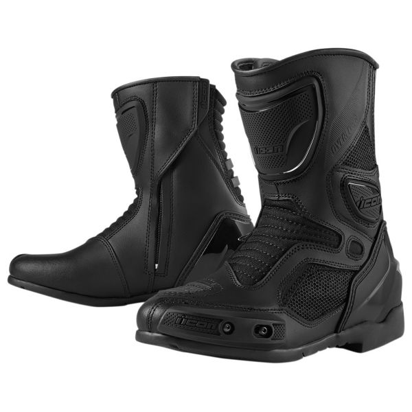 Bottes Moto ICON Overlord Women Boot Stealth