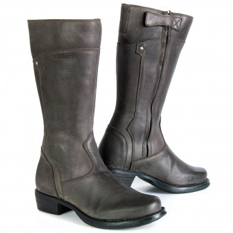 Bottes Moto Stylmartin Sharon Marron Lady