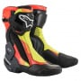 Bottes Moto Alpinestars SMX Plus V2 Black Red Fluo Yellow Gray