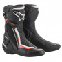 Bottes Moto Alpinestars SMX Plus V2 Black White Red Fluo