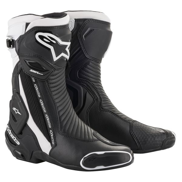 Bottes Moto Alpinestars SMX Plus V2 Black White