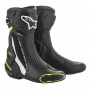 Bottes Moto Alpinestars SMX Plus V2 Black White Yellow Fluo