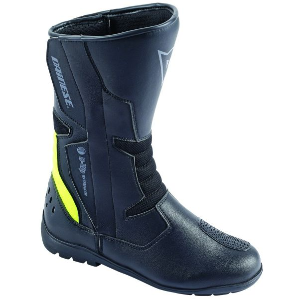 Bottes Moto Dainese Tempest D-Waterproof Black Yellow Fluo