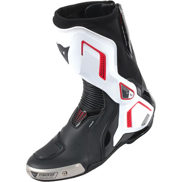 Bottes Moto Dainese Torque D1 Air Black White Red