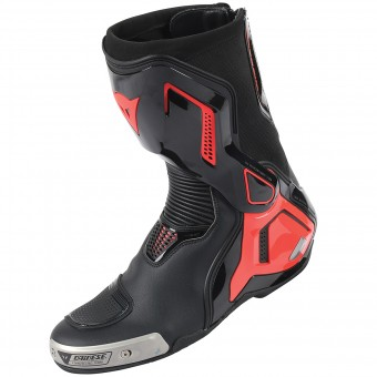 Bottes Moto Dainese Torque Out D1 Black Red Fluo