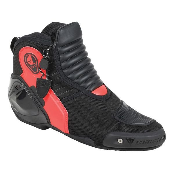 Chaussures Moto Dainese Dyno D1 Black Red Fluo
