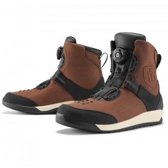 Chaussures Moto ICON Patrol 2 Brown