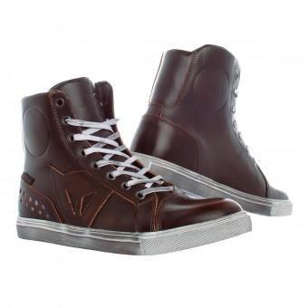 Chaussures Moto Dainese Street Rocker D-WP Lady Dark Brown