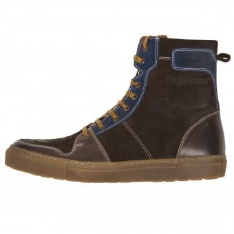 Chaussures Moto Helstons C2 Leather Waterproof Brown