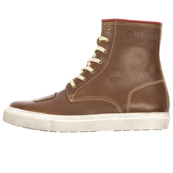 Chaussures helstons c4 leather waterproof fawn en stock - Boutique 100 bitume ...