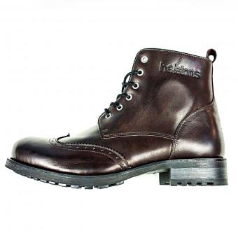 Chaussures Moto Helstons Cardinal Bordeaux