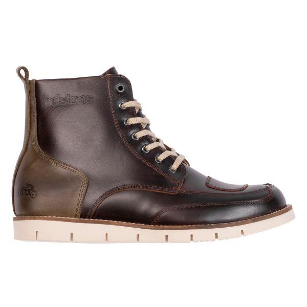 Chaussures Moto Helstons Liberty Brown Khaki