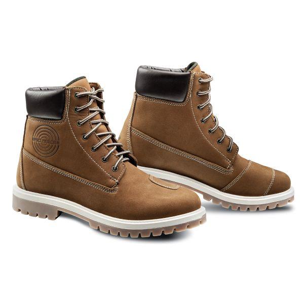 Chaussures Moto Ixon Mud WP Moka