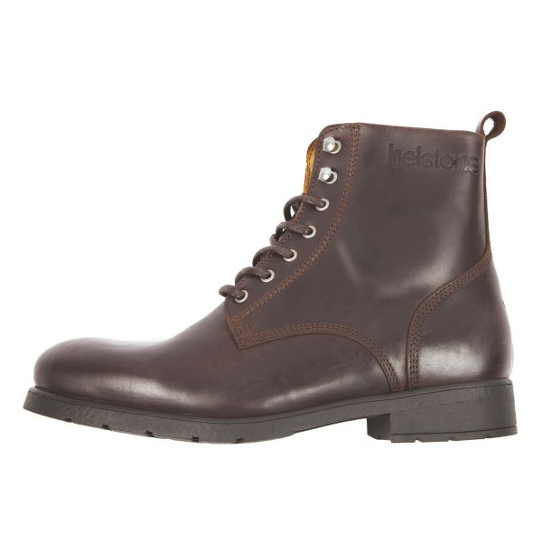 Chaussures Moto Helstons City Leather Brown