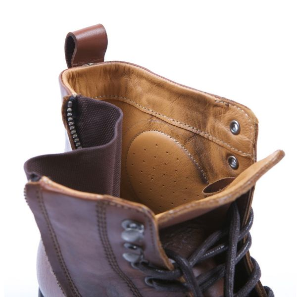 Helstons City Leather Brown