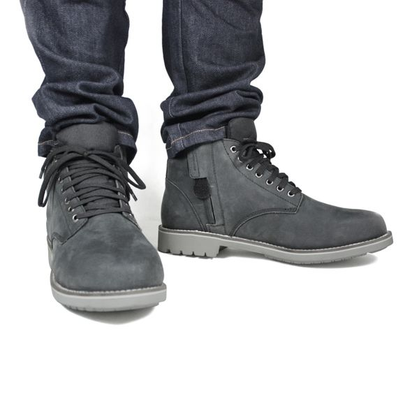 Chaussures Moto HARISSON Custer Commando Black