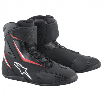 Chaussures Moto Alpinestars Fastback 2 Black Red